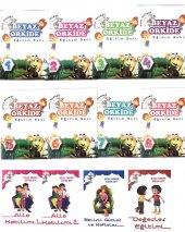 Okul Öncesi Beyaz Orkide Eğitim Seti 12 Kitap