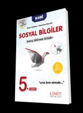 Limit Yayınları 5. Sınıf Sosyal Bilgiler Konu Bitirme Kitabı Yeni