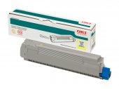 Okı 44844505 Sarı Toner C831, C841 10000 Sayfa