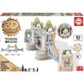 3d Monument Puzzle Tower Brıdge 92 Pcs