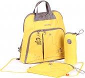 Okiedog Mondrian Trek Bebek Bakım Çantası Sarı 283...
