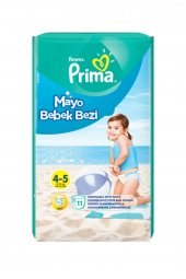 Prima Mayo Bebek Bezi 4 5 No 14 31 Kg 11li