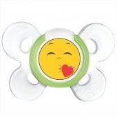 Chicco Physio Comfort Silikon Emzik 6 12 Ay Tekli Smile