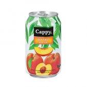 Cappy Şeftali Nektarı Kutu Meyve Suyu 330ml (12 Li Koli)