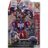 Oyuncak Transformers Optimus Prime Robot Aksesuarlı 12cm Robot