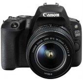 Canon Eos 200d 18 55mm Dc Iıı Fotoğraf Makinesi (Siyah) (Canon Eu