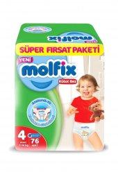 Molfix Pants Maxi Süper Fırsat Paketi 4 No 76 Adet 7 14 Kg