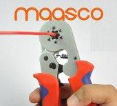 Maasco Yac 9 (6 Koşeli Yüksük Sıkma Pensesi 0.5 6.0 Mm Arası) Cırcırlı