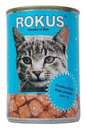 Rokus Balıklı 410 G. Kedi Konserve Maması