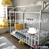 Montessori Yatak Beyaz 90x190 En Uygun Fiyata