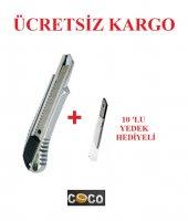 Coco Metal Maket Bıçağı Falçata + 10 Adet Maket...