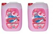 Bingo Soft Gülpembe Çamaşır Yumuşatıcı Parfümlü 5 Lt X2 Adet