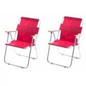Kamp Ve Plaj Sandalyesi Koltuğu Katlanır (2 Adet)
