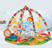 Furkan Toys Lisanslı Babies Sevimli Orman Oyun Halısı
