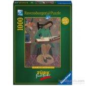 Ravensburger 1000 Parçalı Puzzle Kanun Çalan Kız H...