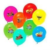 Balonevi Balon Cars Baskılı Pastel 4+1 100 Lü