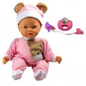 Kutulu 16 İnc Mimikli Çıngıraklı Bebek