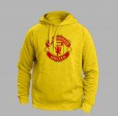 Manchester Unıted Sarı Sweatshırt
