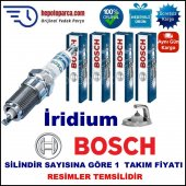 Honda Prelude 2.2i 16v (10.1996 08.2001) Bosch Buji Seti Platin İridyum (Lpg) 4 Adet