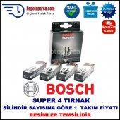 Audı 80 1.6 06.1993 05.1995 Bosch Buji Seti Süper 4 Buji (4 Tırnaklı) 4 Adet
