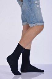 Likralı Penye Erkek Soket Çorabı Lacivert E Art226
