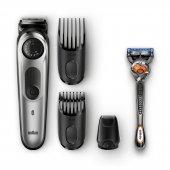 Braun Bt 5065 Saç&sakal,kablosuz,ıslak&kuru,+ Gill...
