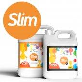 Slim 7500 Gr A+b Küçük Hacim İçin Şeffaf Epoksi Reçine