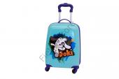 Albatros Çocuk Valiz Doki 4 Tekerli Çekçekli Çocuk Valiz, Bavul