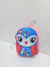 Haeja Tatlı Baykuş Çok Renkli Kız Çocuk Sırt Çantası