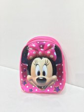 Haeja Minnie Mouse Pembe Kız Çocuk Sırt Çantası