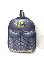 Haeja Batman Gri Erkek Çocuk Sırt Çantası