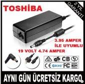 Toshiba Portege Z930 Uyumlu Adaptör19 Volt 4,74 A Şarj Aleti