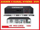Kayıt Cihazı Dvr 4 Kanal Ahd Analog 1080p 2mp Kayıt