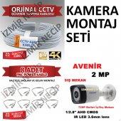 4 Adet Kamera Kablo Montaj Jakı Hepsi Tek Pakette Ekonomik Set