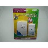Bigem Wireless Kablosuz Kapı Zili Bigem Bm 214 Melodili Kapı Pill