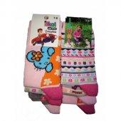 İlkal Kız Çocuk Çorap 7 8 Yaş 6 Çift
