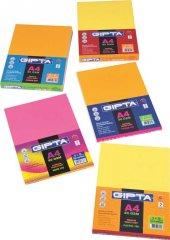 Gıpta Neon 100 A4 Renkli Kağıt 100lük Paket (5x20 Yaprak)