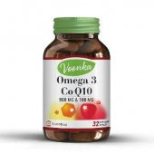 Voonka Omega 3 Co Q10 Takviye Edici Gıda 32 Kapsül