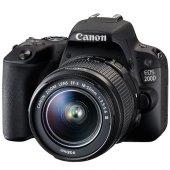 Canon Eos 200d + 18 55mm Lens Dijital Slr Fotoğraf Makinası