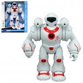 25 Cm Sesli Işıklı Hareketli Robot 8843