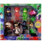 Pj Masks 10' Lu Pijamaskeliler 6 Karakter