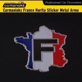 Carmaniaks France Harita Sticker Metal Arma