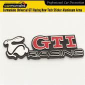 Carmaniaks Universal Gtı Racing New Tech Sticker Aluminyum Arma