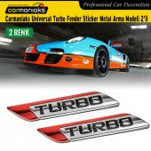 Carmaniaks Universal Turbo Fender Sticker Metal Arma 2li
