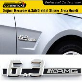 Carmaniaks Amg 6.3 Mercedes Sticker Metal Arma