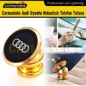 Carmaniaks Audi Uyumlu Mıknatıslı Gold Telefon Tutucu Crm5023