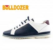 Bulldozer 16603 Cilt Deri Poli Delikli Bağcıklı Erkek Ayakkabı