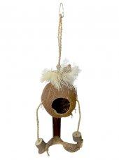Eastland Hindistan Cevizli Ahşap Kuş Oyuncağı 17 42 Cm