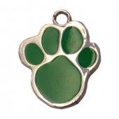 Patili Kedi Köpek İsimlik Aksesuar 2,5 Cm Yeşil