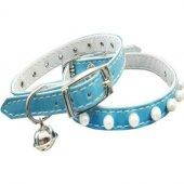 Eastland İncili Kedi Boyun Tasması 28 Cm Mavi